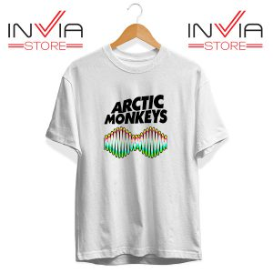 Buy Tshirt Arctic Monkeys Zero Seven Tee Shirt Size S-3XL White