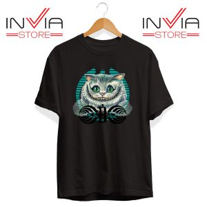 Buy Tshirt Bassnectar Chashire Cat Tee Shirt Size S-3XL Black