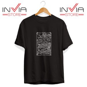 Buy Tshirt Game Of Thrones Map Tee Shirt Size S-3XL Black