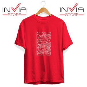 Buy Tshirt Game Of Thrones Map Tee Shirt Size S-3XL Red