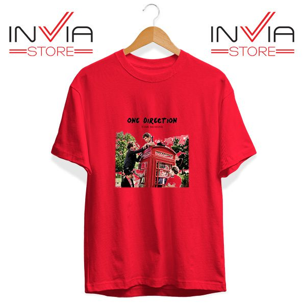 Buy Tshirt One Direction Telephone Booth Tee Shirt Size S-3XL Red