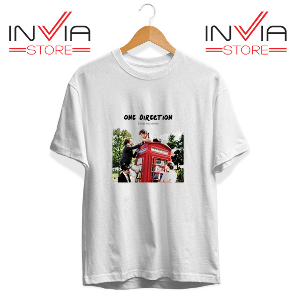 Buy Tshirt One Direction Telephone Booth Tee Shirt Size S-3XL White