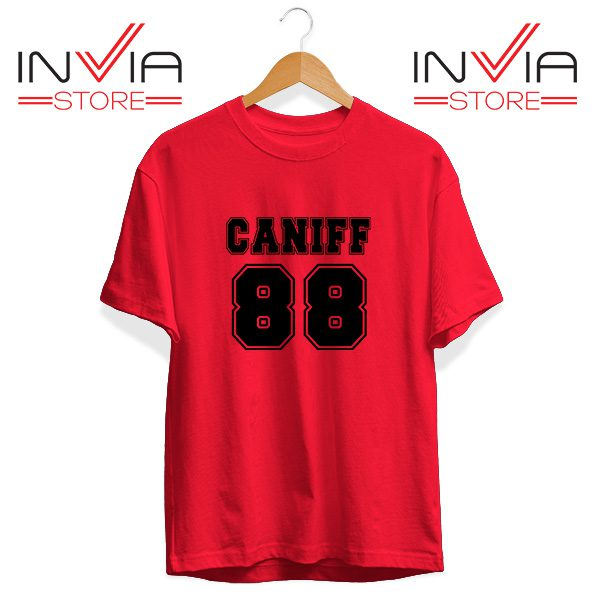 Buy Tshirt Taylor Caniff Year Of Birth 88 Tee Shirt Size S-3XL Red