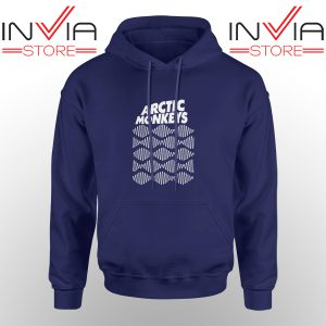 Best Hoodie Arctic Monkeys Wave Noise Popular Adult Unisex Navy
