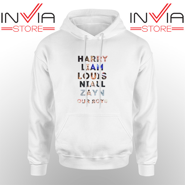 Best Hoodie Harry Liam Louis Niall Zayn Hoodies Adult Unisex White