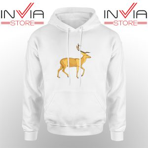 Best Hoodie The Mountain Deer Hoodies Adult Unisex White