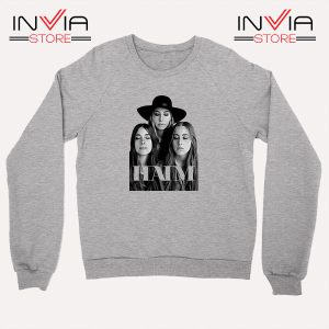 Buy Sweatshirt Haim The Band Merch Sweater Size S-XL Grey