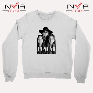 Buy Sweatshirt Haim The Band Merch Sweater Size S-XL White