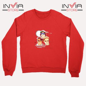 Buy Sweatshirt Hanson Dancing On The Wind Sweater Size S-XL Red