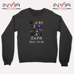 Buy Sweatshirt Harry Liam Louis Niall Zayn Sweater Size S-XL Balck