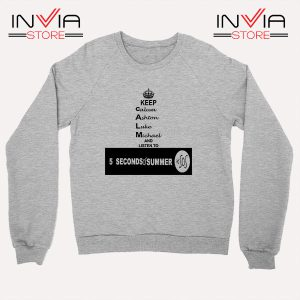 Buy Sweatshirt Nickname Personil 5 Sos Sweater Size S-XL Grey