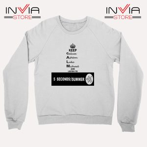 Buy Sweatshirt Nickname Personil 5 Sos Sweater Size S-XL White