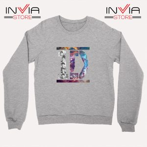 Buy Sweatshirt One Direction What Makes You Beautiful Size S-XL Grey