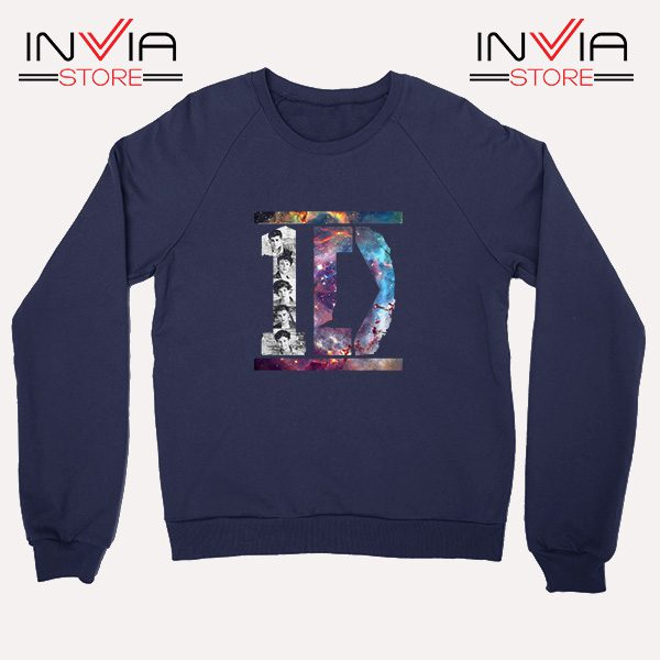 Buy Sweatshirt One Direction What Makes You Beautiful Size S-XL Navy