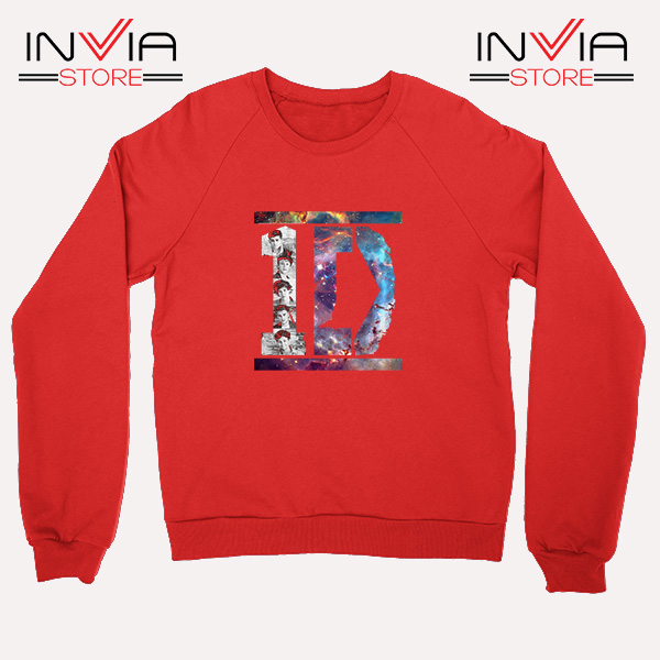 Buy Sweatshirt One Direction What Makes You Beautiful Size S-XL Red