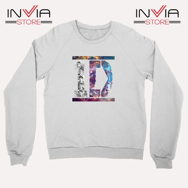 Buy Sweatshirt One Direction What Makes You Beautiful Size S-XL White