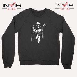 Buy Sweatshirt Star Wars Darth Veder Guitar Sweater Size S-XL Black