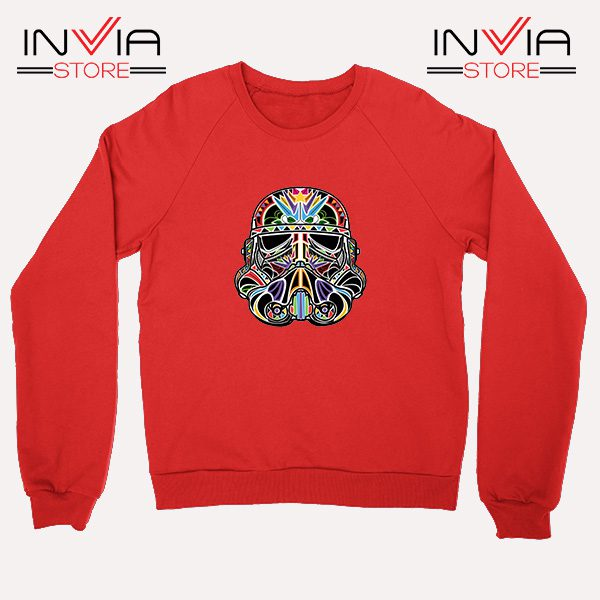 Buy Sweatshirt Star Wars Day Of The Clone Sweater Size S-XL Red