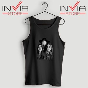 Buy Tank Top Haim The Band Merch Custome Size S-XL Black