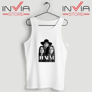 Buy Tank Top Haim The Band Merch Custome Size S-XL White