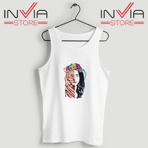 Buy Tank Top Lana Del Rey Teases New Poetry Custome Size S-XL White