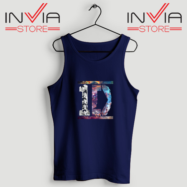 Buy Tank Top One Direction What Makes You Beautiful Size S-XL Navy