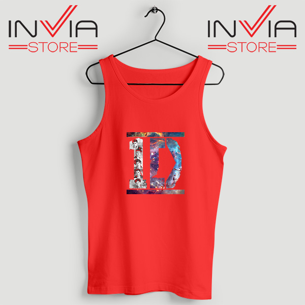Buy Tank Top One Direction What Makes You Beautiful Size S-XL Red