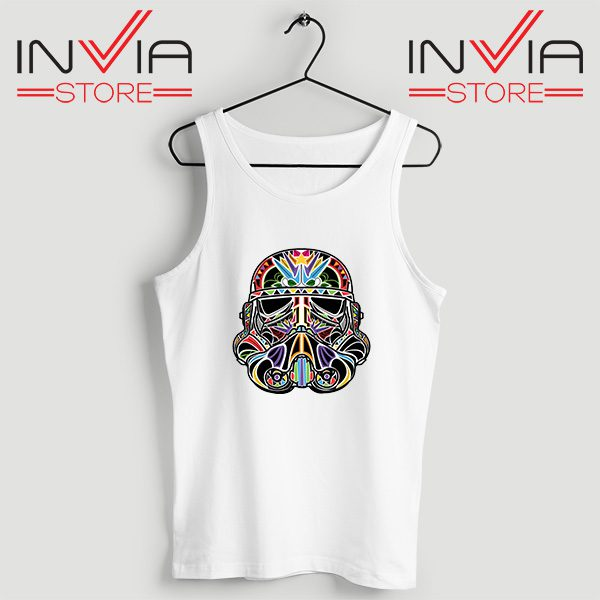 Buy Tank Top Star Wars Day Of The Clone Custom Size S-XL White