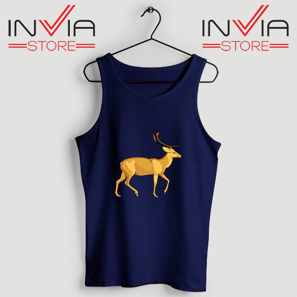 Buy Tank Top The Mountain Deer Custom Size S-XL Navy