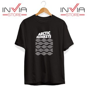 Buy Tshirt Arctic Monkeys Wave Noise Popular Size S-3XL Black