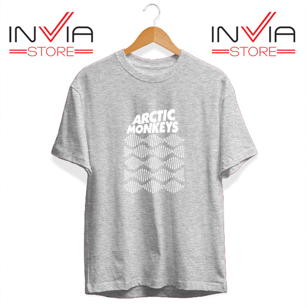 Buy Tshirt Arctic Monkeys Wave Noise Popular Size S-3XL Grey