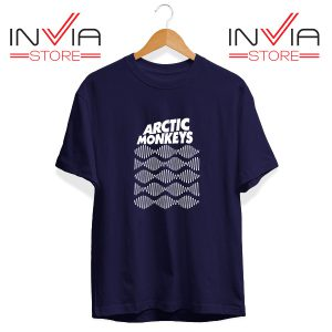 Buy Tshirt Arctic Monkeys Wave Noise Popular Size S-3XL Navy