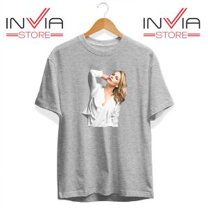 Buy Tshirt Charlize Theron Imdb Tee Shirt Size S-3XL Grey