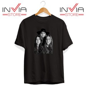 Buy Tshirt Haim The Band Merch Tee Shirt Size S-3XL Black