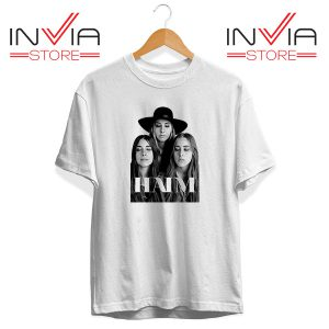 Buy Tshirt Haim The Band Merch Tee Shirt Size S-3XL White