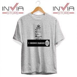 Buy Tshirt Nickname Personil 5 Sos Tee Shirt Size S-3XL Grey