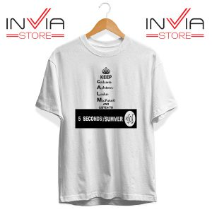 Buy Tshirt Nickname Personil 5 Sos Tee Shirt Size S-3XL White