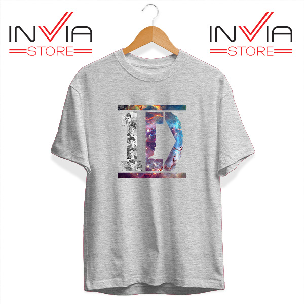 Buy Tshirt One Direction What Makes You Beautiful Size S-3XL Grey