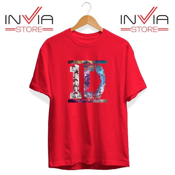 Buy Tshirt One Direction What Makes You Beautiful Size S-3XL Red