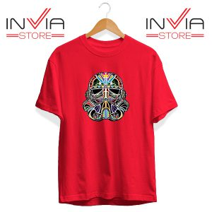 Buy Tshirt Star Wars Day Of The Clone Tee Shirt Size S-3XL Red