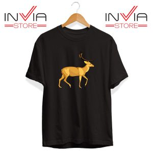 Buy Tshirt The Mountain Deer Tee Shirt Size S-3XL Black