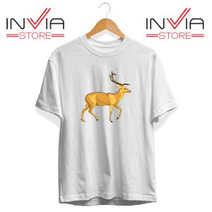 Buy Tshirt The Mountain Deer Tee Shirt Size S-3XL White