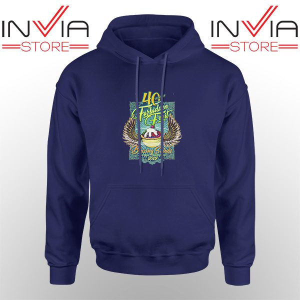 Best Hoodie Blazing Salads 40th Year Hoodies Adult Unisex Navy