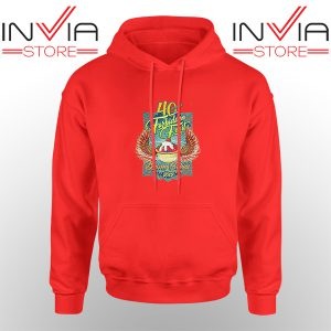 Best Hoodie Blazing Salads 40th Year Hoodies Adult Unisex Red