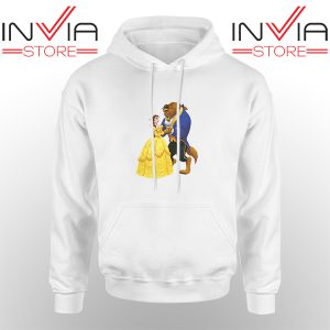 Best Hoodie Disney Beauty And The Beast Hoodies Adult Unisex White