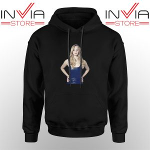 Best Hoodie Funny Famous Face Jennifer Lawrence Unisex Black