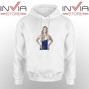 Best Hoodie Funny Famous Face Jennifer Lawrence Unisex White