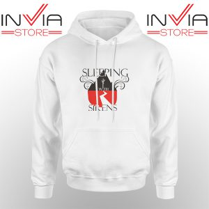 Best Hoodie Sleeping With Sirens Band Hoodies Adult Unisex White