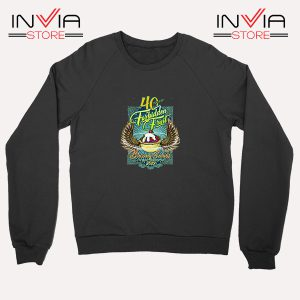 Buy Sweatshirt Blazing Salads 40th Year Sweater Size S-XL Black