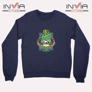 Buy Sweatshirt Blazing Salads 40th Year Sweater Size S-XL Navy